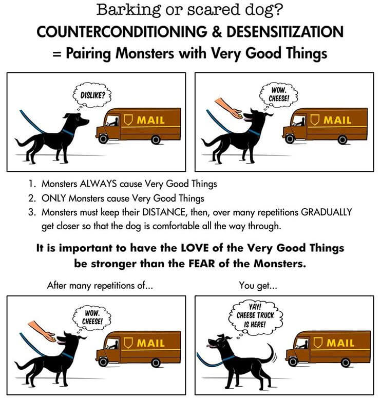 counter-conditioning and desensitizing german shepherd barking problems