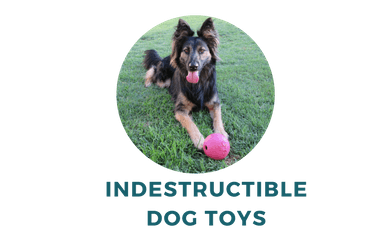 Indestructible dog toys for power german shepherd chewers